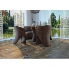 Плитка напольная «Ранчо» 41.8х41.8 см 1.747 м2 цвет коричневый
